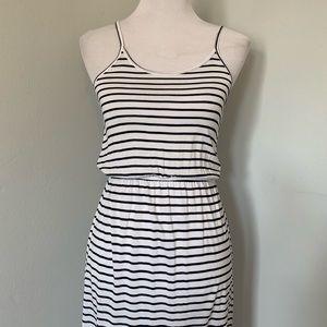 •new• H&M Nautical Stripe Maxi Dress